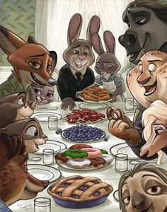Haven't seen Zootopia yet, but saving this to look up the artist works Disney And Dreamworks, Disney Pixar, Disney Characters, Nick Y Judy, Zootopia Fanart, Zootopia Nick And Judy, My Little Pony, Best Disney Movies, Disney Facts