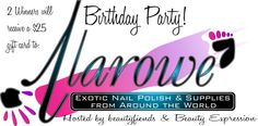 Birthday Party hosted by beautyfiends