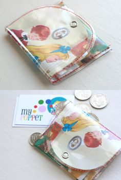 How To: Vintage Storybook Coin Purse
