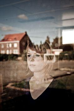 Portrait series by Rein Van Oyen, via Behance