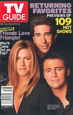 TV Guide Covers Gallery | TV Guide #2634 Friends