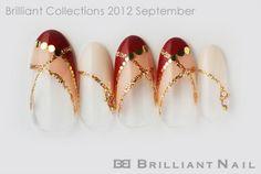 2012 autumn nail