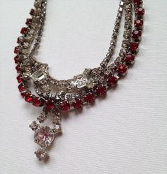Rhinestone Combo Necklace