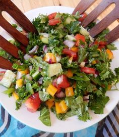 Anti-Cancer Recipes: Nancy's Triple-Star Tabbouleh - Salads - Diet Plans Smoothie Recipes, Diet Recipes, Cooking Recipes, Healthy Recipes, Smoothies, Healthy Foods, Healthy Brain, Diabetic Recipes, Recipies