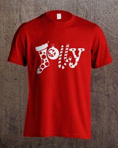 Jolly Christmas Tshirt Christmas, Mens Tops, T Shirt, Fashion, Xmas, Supreme T Shirt, Moda, Tee Shirt, Fashion Styles