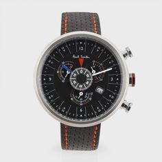 Paul Smith Black Cycle Eyes Chronograph