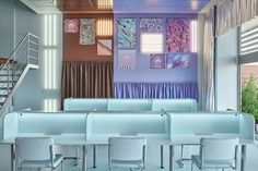 Cabinette coworking en Valencia diseñado por Masquespacio Amazing Architecture, Contemporary Architecture, Interior Architecture, Interior Design, Interior Ideas, Dipped Furniture, Silver Curtains, Timber Table, Ground Floor Plan