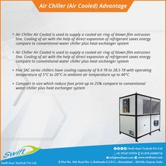Air Chiller Advantage #AirChiller #AirChillerManufacturer #AirChillerSuppliers #AirChillerTraders #AirChillerExporters W:http://www.swiftauxi.com/
