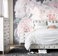 RH TEEN's Selby Tufted Bed With Low Footboard:Beauty sleep. Inspired by refined furnishings of the 19th century, our bed features graceful arches and an elegant rounded footboard with turned feet. Allover tufting completes the timeless design.