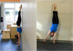4 weeks to a better handstand by pamela gagnon, gymnastics, crossfit gymnastics, handstands, workouts