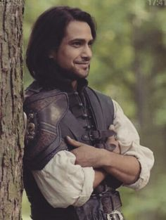 Luke Pasqualino as Dartagnan in Series 3 of the Musketeers