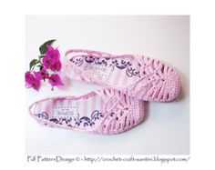 Grey Rib Pebble Slippers Crochet Pattern Instant Download