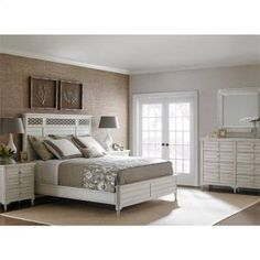 4512345 in by Stanley Furniture in Somers Point, NJ - Cypress Grove - Wood Panel Bed In Parchment - King