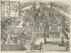 Lowther Lodge, Kensington, London (engraving)