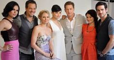 The awesome cast of #Once #ComicCon2013 #Lobby #SanDiego #Ca Saturday 7-2013