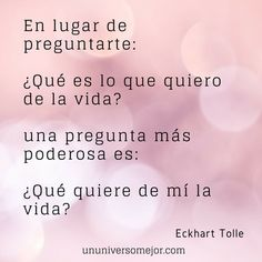 Pensamientos y reflexiones de Eckhart Tolle en español Eckhart Tolle, Wise Quotes, Daily Quotes, Wise Sayings, Everything Is Possible, Spanish Quotes, Positive Vibes, Karma, Psychology