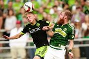 The Portland Timbers beat the Seattle Sounders 3-1 in the fourth round of the Lamar Hunt U.S. Open Cup.