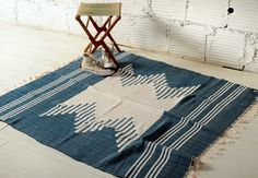 Joinery; Large rag rug.