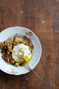 Cauliflower hash for a low carb breakfast