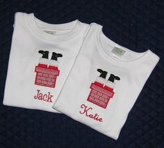 Applique Christmas T Shirts