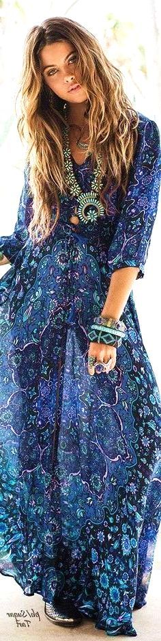 #boho #fashion #spring #outfitideas Bohemian Chic Maxi Dress - more on http://ift.tt/2rynWxj