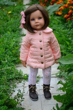 Осенние модницы. / Одежда и обувь для кукол - своими руками и не только / Бэйбики. Куклы фото. Одежда для кукол