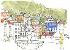 Sintra, avec Joao   by gerard michel