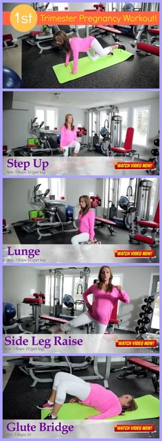 [FITNESS VIDEO ALERT] - 1st-Trimester Pregnancy Workout! A detailed 25-minute pregnancy workout that will greatly benefit you and your unborn baby. P.S. - Stay tuned for more exclusive 1st, 2nd, and 3rd trimester pregnancy workouts. :)