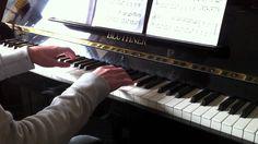 Sherlock theme tune piano