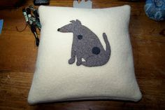 A small shop with pillows,wall hangings and framed art made from recycled woolen sweaters and blankets as well as nature-inspired linocut prints. Linocut Prints, Wool Blanket, Framed Art, Terrier, Recycling, Snoopy, Pillows, Inspiration, Design