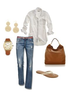 Spring casual - created on Polyvore