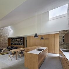 Skylight House by Andrew Burges Architects #homeadore #kitchen #diningroom #interior #interiors #interiordesign #interiordesigns #residence #home #casa #property #villa #maison #sydney #australia #andrewburgesarchitects by homeadore