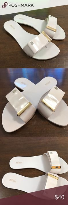 Melissa sandals This beauties, classy, elegant and neutral for you walking day in the beach. Why flip flops when you can wear these chic sandals. Melissa Shoes Sandals