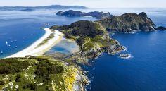 """Las Islas Cíes, turismo en Galicia Descubre las """"Islas Gallegas"""", ¿tu próxima escapada? http://www.viajero-turismo.com/2017/11/descubre-las-islas-gallegas-tu-proxima.html 4 destinos increíbles para perderte #turismo"""