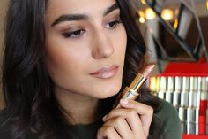They celebrate Color Riche's 30 anniversary and the Loreal Paris, Your Lips, My Beauty, Best Makeup Products, Make Up, Celebrities, Color, Nails, Glamour