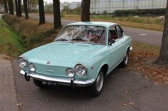1969 Fiat 850 Coupe. I had one just like this while stationed in Augsburg, Germany in 1969-1970!
