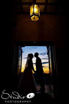 Wedding at My Old Kentucky Home http://www.studioelouisville.com...love sunset silhouette