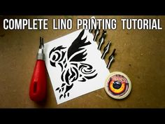 The Linocut Process.mov - YouTube Bulbasaur, Hello Everyone, Printing Process, Printmaking, Make It Yourself, Youtube, Stamps, Seals, Printing