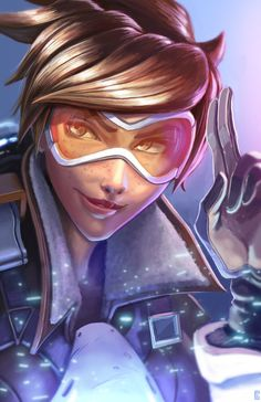 ArtStation - Tracer, Colin Searle