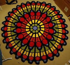 Image result for stained glass crochet