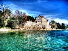 Castle Rusinac in Kastela ,Croatia