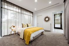 Le tapis est un revêtement de sol parfait pour la chambre à coucher.