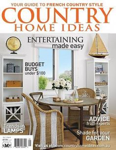 Vol 11: No 8 | Country Home Ideas | The Country Lifestyle Magazine