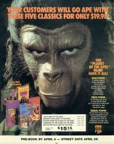 Archives Of The Apes: Planet Of The Tapes