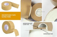 Microfoam Tape ultra thin OMG so thin !!! The microfoam tape is a great substitute for the traditional gel pad. It is also a helpful tool for to any lash artist that is struggling with securing small lower lashes. It can be used as eyelid overlay for sensitive eyes when applying lashes. www.goldenbeauty-... #eyelash #newproducts #onlineshop #welcome #goldenbeauty # Taśma mikropiankowa ultra cienka jest świetnym substytutem tradycyjnych płatków żelowych. Jest również przydatnym