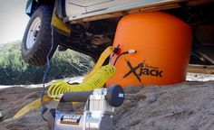 Bushranger X-Jack - Gear Hungry - Car jack in the wild. Jeep Mods, Truck Mods, T3 Camper, Hors Route, Bug Out Vehicle, Jeep Accessories, Off Road, Expedition Vehicle, Jeep Truck