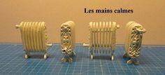 """les mains calmes: Radiateurs miniatures """"nouvelle collection"""""""