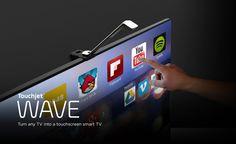 """Touchjet WAVE: Thiết bị """"hóa phép"""" tivi thành máy tính bảng khổng lồ Touchjet WAVE - Turn any TV into a giant touchscreen"""