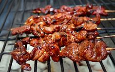 Filipino Chicken Barbeque - use key limes