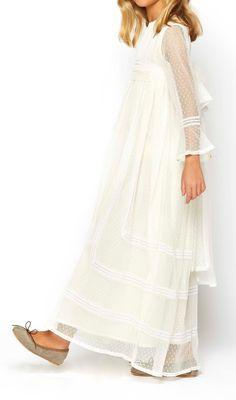 Vestidos de Comunión Niña en Tienda Online Nícoli Nicoli 1710242 Mini